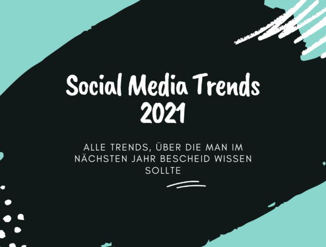 Social Media Trends 2021, Alle Trends, über die man im nächsten Jahr Bescheid wissen sollte, schwarz, blau, weiß